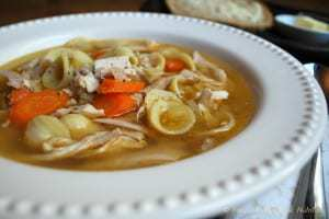 Slow Cooker Chicken Noodle Soup | Back To The Book Nutrition