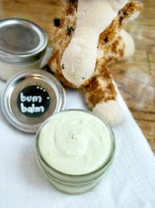 Homemade Diaper Cream {Bum Balm} | www.backtothebooknutrition.com/blog