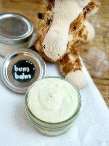 Homemade Diaper Cream {Bum Balm} | www.backtothebooknutrition.com/blog
