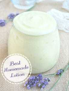 Best Homemade Lotion | Back To The Book Nutrition
