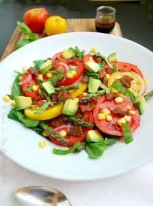 Tomato, Bacon and Corn Salad