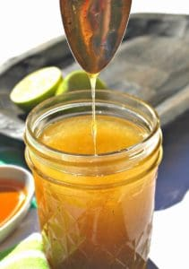 Healthy Homemade Salad Dressing Recipe Roundup - Honey Lime Vinaigrette | Back To The Book Nutrition