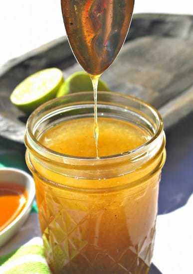 Salad Dressing Recipe Roundup - Honey Lime Vinaigrette | Back To The Book Nutrition