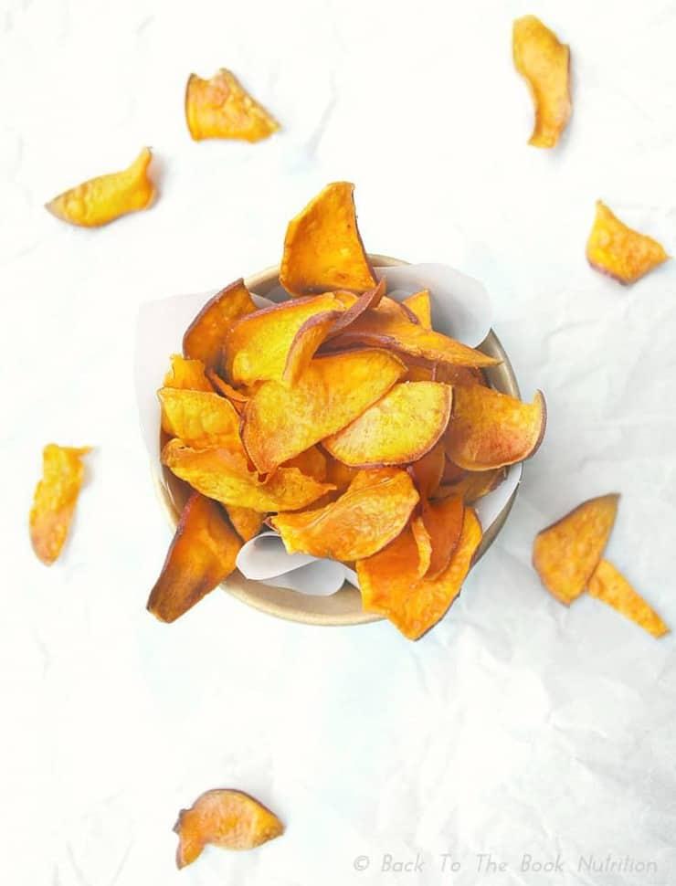 Easy Homemade Sweet Potato Chips 3