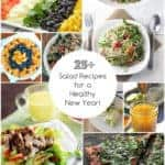 25+ Salad Recipes for a Healthy New Year!