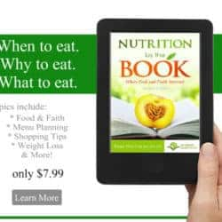 eBoooks from Back To The Book Nutrition