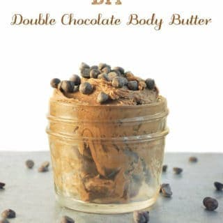 DIY Double Chocolate Body Butter