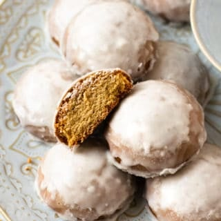 Best Ginger Cookies with Orange Clove Icing (Christmas Favorite!)