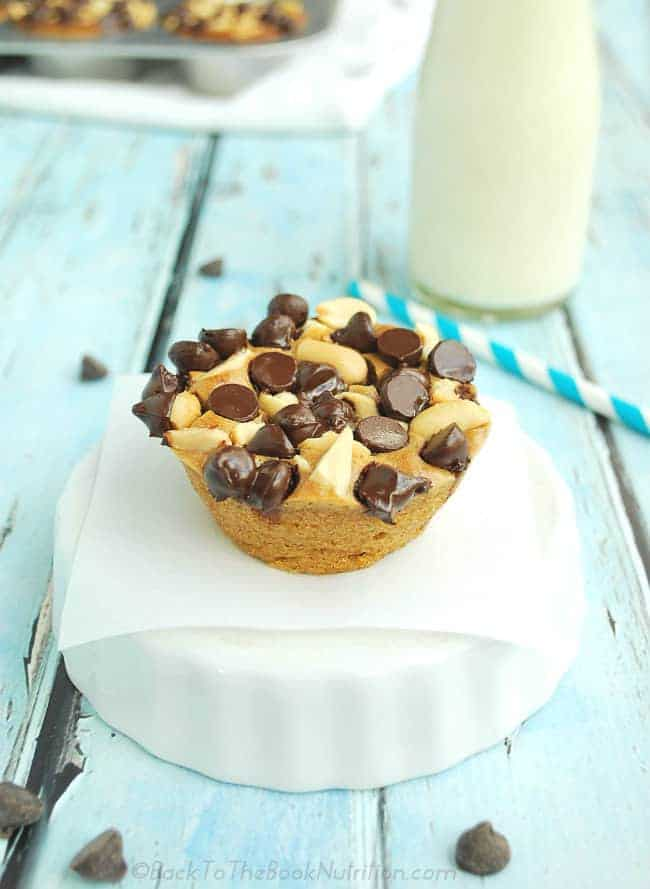 20 Minute Chocolate Peanut Butter Blender Muffins - You'd never know these are grain free! (Dairy Free option) | Back To The Book Nutrition