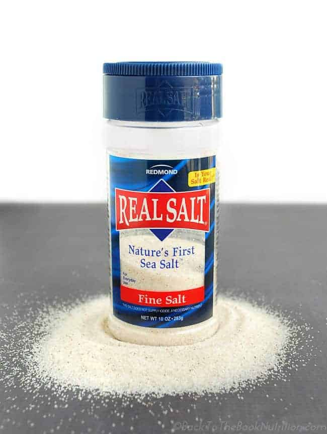 Redmond Real Salt is the only sea salt I use. I love that it's unprocessed, nutrient-rich, domestically sourced, and affordable! | Back To The Book Nutrition