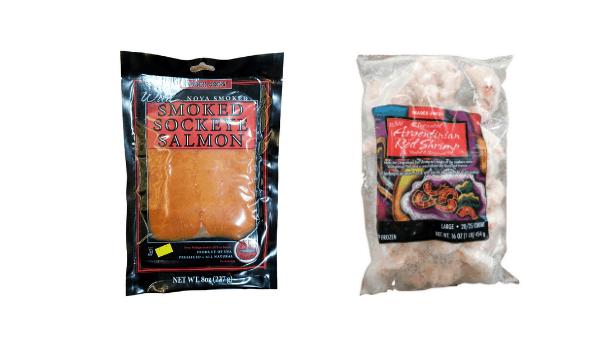 2 Trader Joe's fish and seafood dishes