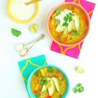 Simple, healthy Mexican Chciken Soup (Pollo de Caldo) - gluten free, grain free, GAPS | Back To The Book Nutrition