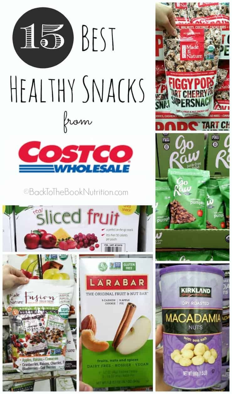 Best Healthy Snacks from Costco | Back To The Book Nutrition