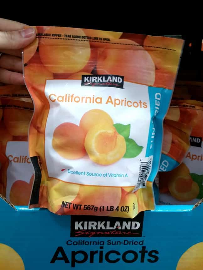 Dried apricots from Costco | Back To The Book Nutrition