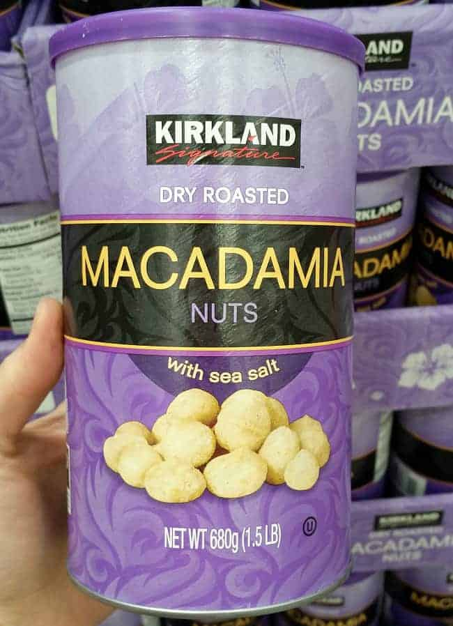 Macadamia Nuts from Costco | Back To The Book Nutrition