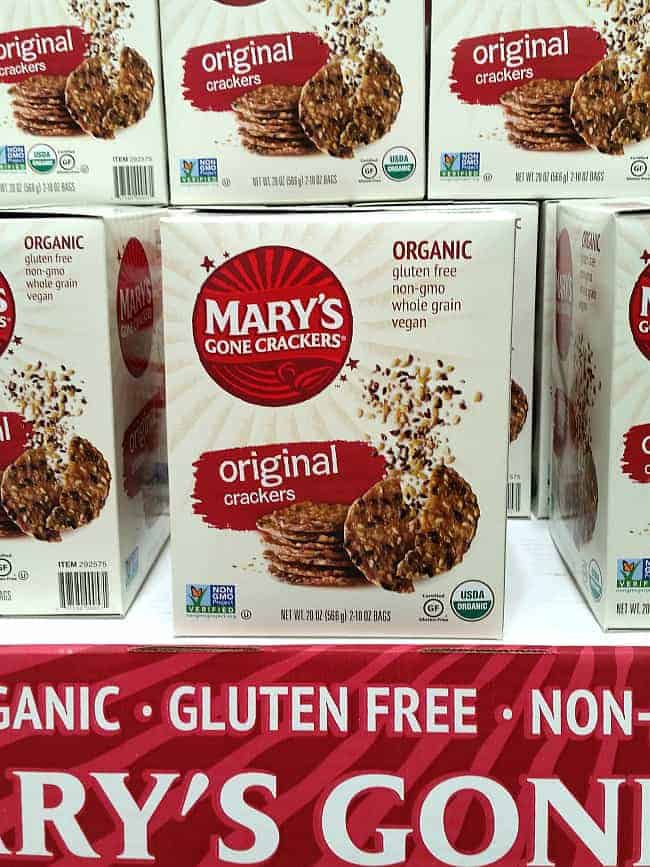 Marys Gone Crackers from Costco | Back To The Book Nutrition