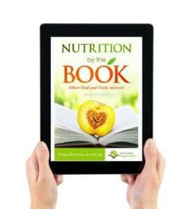 Nutrition By The Book on Tablet