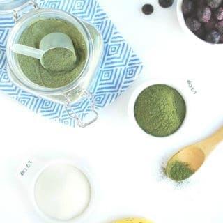 DIY Protein Powder + Greens (only 2 Ingredients)