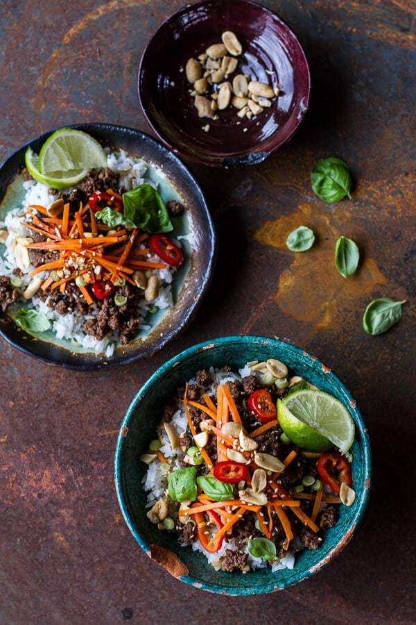 30 Minute Rice Bowls (30 mostly gluten free recipes) | Back To The ...