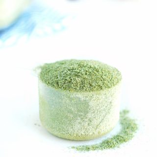 Homemade Protein Powder + Greens (only 2 Ingredients)