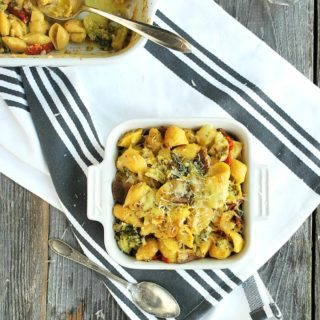 Italian Veggie Mac and Cheese