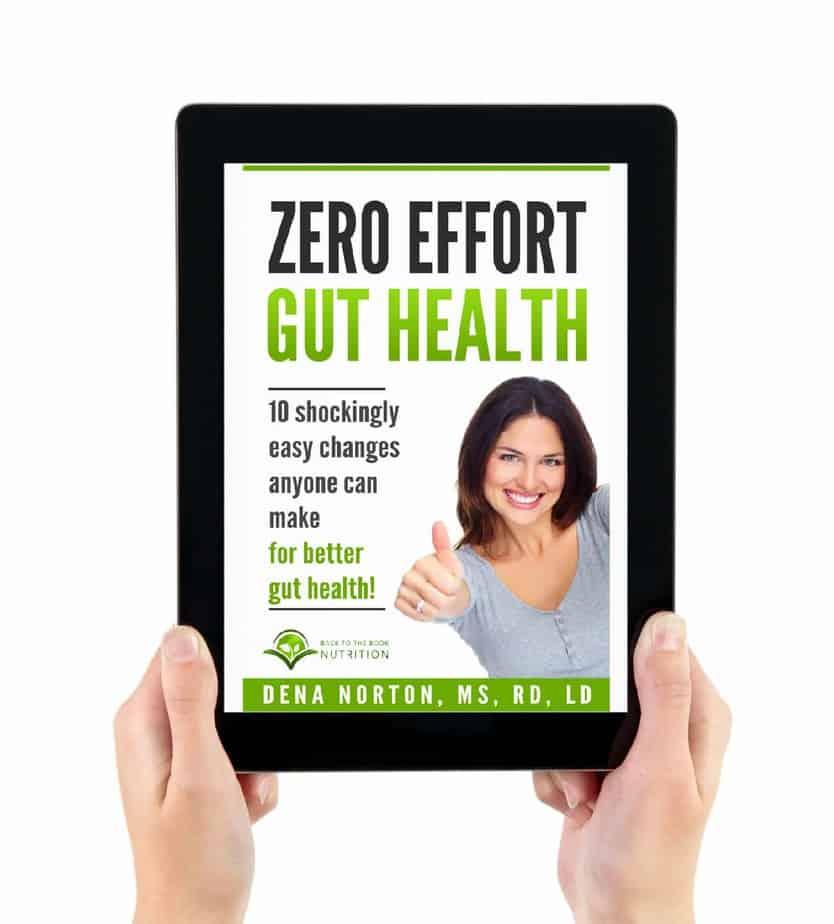 Zero Effort Gut Health  eBook only 8.99