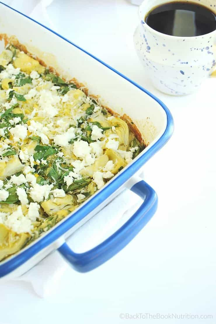 Whip up this simple egg casserole mix in the blender, then add whatever toppings you like   Back To The Book Nutrition
