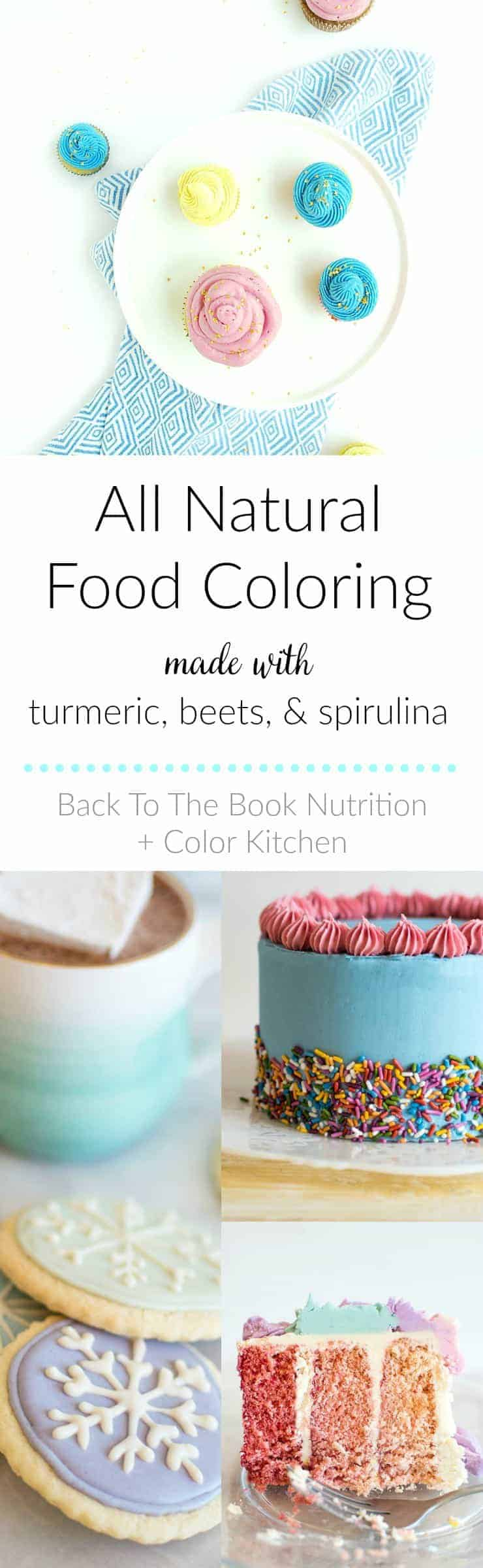 All Natural Food Coloring (made from plants!) | Back To The Book ...