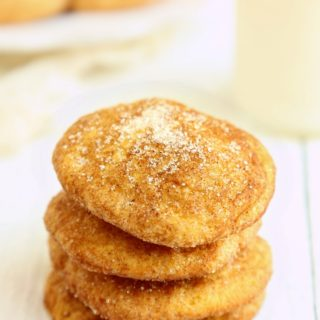 Pumpkin Snickerdoodles with Einkorn flour