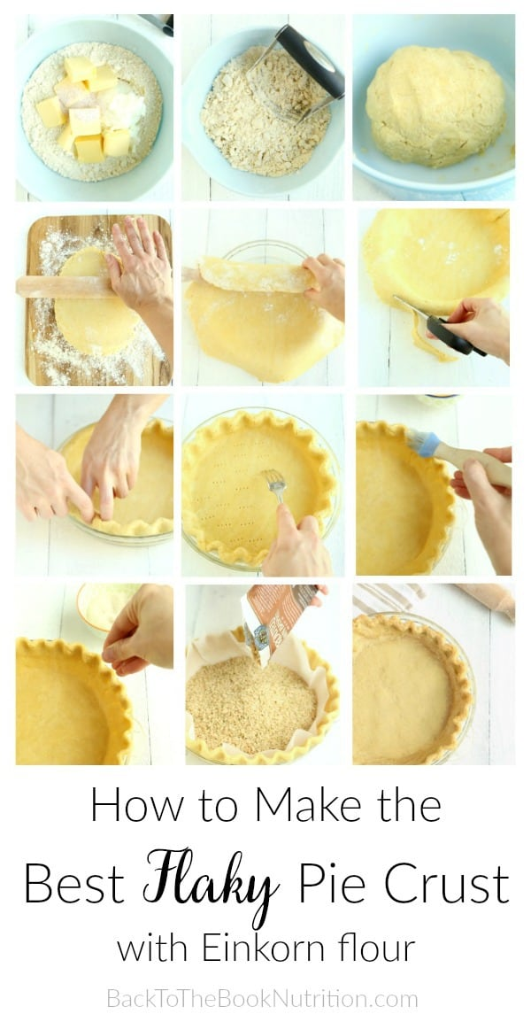 How to make the best flaky pie crust with step by step photo tutorial